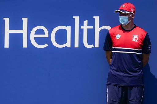 Tennis Ball Boy with Facemask